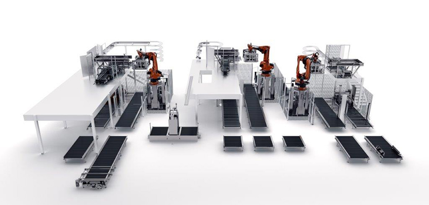Automated Palletising Stretch Wrapping Systems