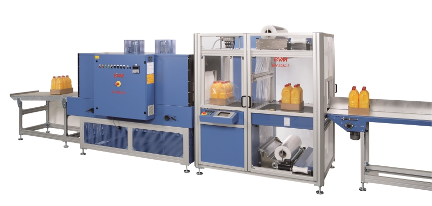 BVM 6030 Sleeve Wrapping Machine - Adpak