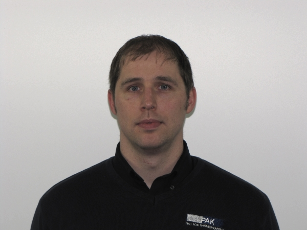 Mark Aspinall, Technical Manager - Adpak
