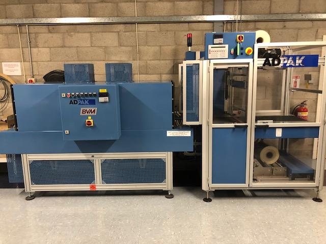 Adpak Machinery Systems Used Shrink Wrap Machines Adpak