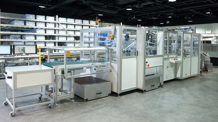 Dematic Auto Bagging System