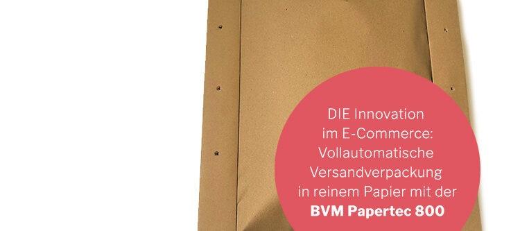 BVM Bunner papertec 800
